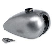 Lowbrow Customs  P-Nut Gas Tank with Unwelded Mounting Tabs