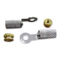 Lowbrow Customs  Spark Plug Terminal Nuts and Ring Terminals
