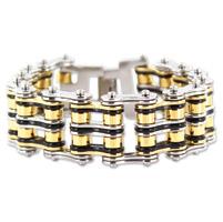Kodiak Tri-color Chain Bracelet