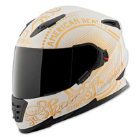 Speed and Strength SS1600 American Beauty Cream/Gold Full Face Helmet