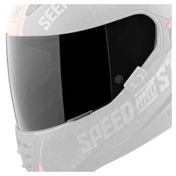 Speed and Strength SS1600 Tinted Faceshield