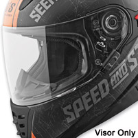 Speed and Strength SS1600 Clear Faceshield