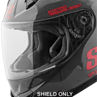 Speed and Strength SS1400 Clear Faceshield