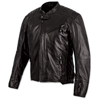 Speed and Strength Rust and Redemption Black Leather Jacket