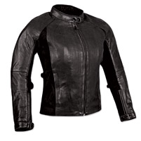 Speed and Strength Speed Society Ladies Black Leather Jacket