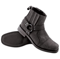Speed and Strength Cruise Missile Men's Black Leather Boots