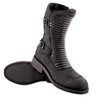 Speed and Strength Speed Society Ladies Black Leather Boots
