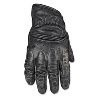Speed and Strength Rust and Redemption Distressed Black Gloves