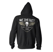 Speed and Strength We, The Fast Black Full Zip Hoodie