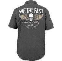 Speed and Strength We, The Fast Black Work Shirt