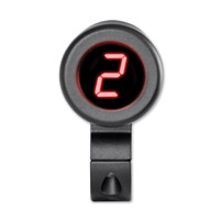 Dakota Digital Black Gear Indicator for 1″ Handlebars