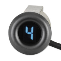 Dakota Digital Black Fairing Flush Mount Gear Indicator