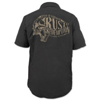 Speed and Strength Rust and Redemption Black Work Shirt