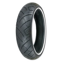 Shinko 777 HD 100/90-19 Wide Whitewall Front Tire