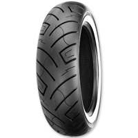 Shinko 777 HD 130/90-16 Wide Whitewall Rear Tire