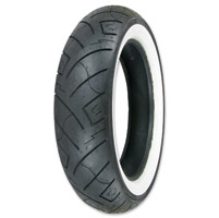 Shinko 777 HD 150/80-16 Wide Whitewall Rear Tire
