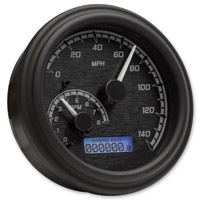 Dakota Digital Black/Gray MVX-2004 Series Analog Gauge System with Black Bezel