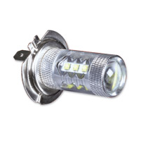 Show Chrome Accessories 80 Watt LED H7 Replacement Headlight Bulb