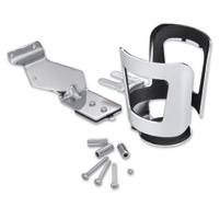 Show Chrome Accessories Beverage Holder Handlebar Mount