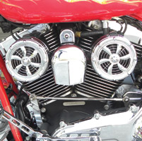 Love Jugs Bullet Design Engine Cooling System