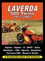 Road Test Portfolio Laverda 500 Twins 1977-1983