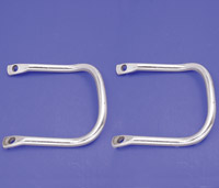 Buddy Seat Chrome Handrail Set