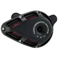 Performance Machine Jet Air Cleaner Black Ops