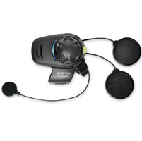 Sena Technologies SMH5-FM Single Pack Bluetooth Headset/Intercom for Open Face or Flip Up Helmets
