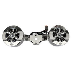 Love Jugs Cool-Master Engine Cooling Fan Chrome