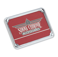 Show Chrome Accessories Euro License Plate Trim