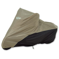 UltraGard Medium Sand/Black Motorcycle Cover