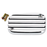 Joker Machine Chrome Master Cylinder Cover Finned Style