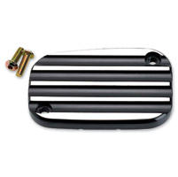 Joker Machine Black Master Cylinder Cover Finned Style