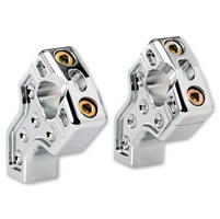Joker Machine Chrome Dual Pullback Handlebar Risers