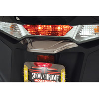 Show Chrome Accessories License Plate Cover Trim