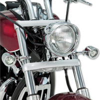 Show Chrome Accessories Mini Halogen Driving Lights with Clamps