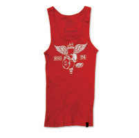 RSD Apparel Soaring Ladies Red Tank Top