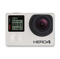 GoPro HERO4 Silver Camera with Built-In Touch Display