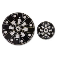 Whitewall Choppers Wicked Series Derby Cover Set