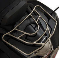 Show Chrome Accessories Smoked Tour Luggage Rack