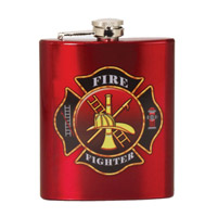 Spoontiques Fire Fighter Flask