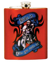 Spoontiques Ride It Like You Stole It Flask