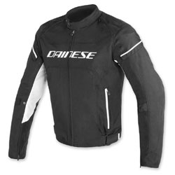 Dainese Men's D-Frame Black/Black/White Jacket