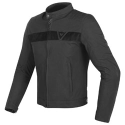 Dainese Men's Stripes Black Textile Jacket