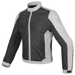 Dainese Men's Air Flux D1 Black/Gray Textile Jacket