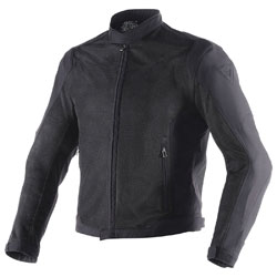 Dainese Men's Black Air Flux D1 BlackTextile Jacket