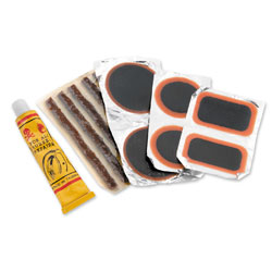 BikeMaster Tire and Tube Patch and Plug Replacement Kit