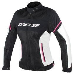 Dainese Women's Air Frame D1 Black/Gray/Fuchsia Jacket