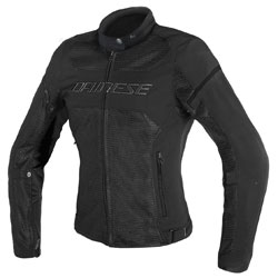 Dainese Women's Air Frame D1 Black Jacket
