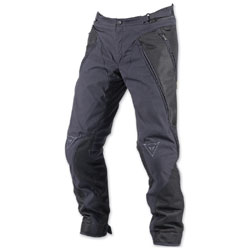 Dainese Men's Over Flux Black Textile Pants